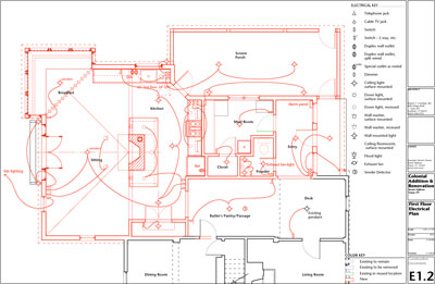 electrical plan power layout wiring diagram Architectural Floor Plans electrical plan power layout